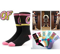 4 pieces = 2pair 2014 new brand women men odd future men's socks calcetines casual long stockings meias masculinas