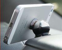 360 degrees Magnetic  mini holder for Mobile phone/Pad/ GPS  Safe driving car phone Stands holder tools Steelie Car Kit,black