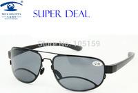 Eyewear & Accessories Sun Readers 2.50 Reading Glasses Men Aviator Sunglasses Double Bridge