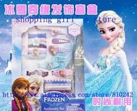 Hot Sale New Arrival 5box Cartoon Princess Frozen Anna elsa Headwear / hair clips/ Hair sticks / Hair Bands /strings