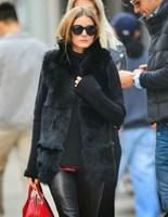 Lady's Black Stand Collar Winter Faux Fox Fur Vest Jacket Plus Size S-3XL Women's 2014 New Fashion Winter Brand Fur Coat WX106