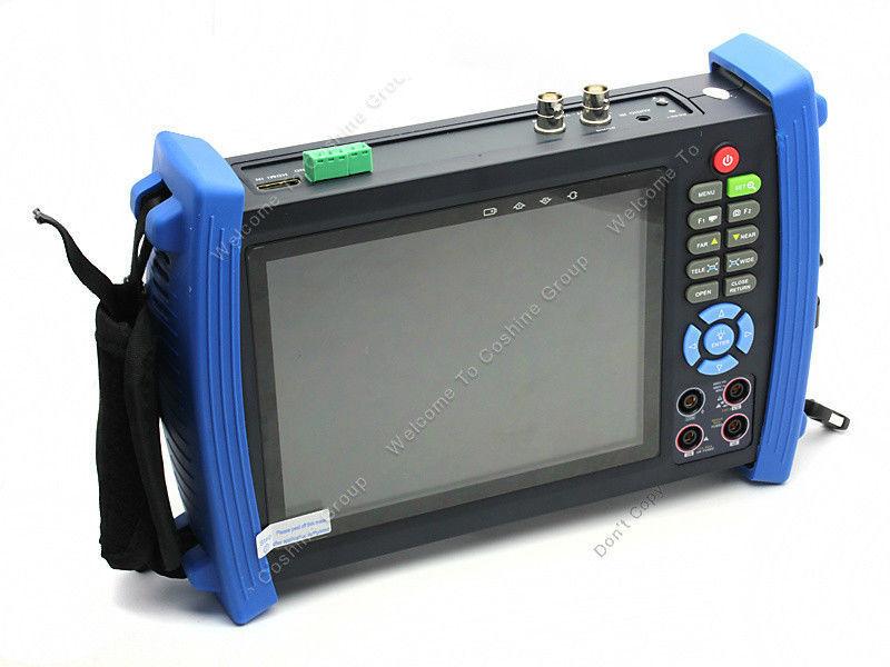 Free shipping!Portable 7 inch LCD,VGA CCTV camera input PTZ tester HVT-3600M Multimeter(China (Mainland))