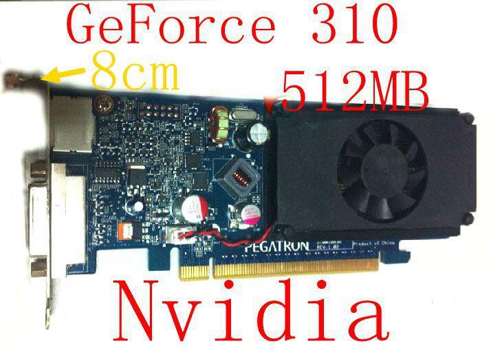 New original For HP GF310 512M Graphics Card DDR3 discrete graphics memory card Interface Type PCI-E HDMI DVI output(China (Mainland))