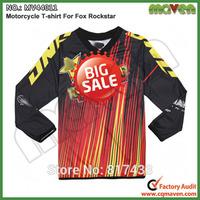 Rockstar M L XL XXL MV44011 Long Sleeve Rockstar Motocross Jerseys Cycling Jerseys Sports T-shirt Motorcycle Shirt Cycling Shirt