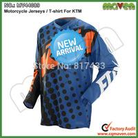 New M L XL XXL MV44089 Long Sleeve KTM FOX Racing Jerseys Cycling Jerseys Sports T-shirt Motorcycle Shirt Cycling Shirt