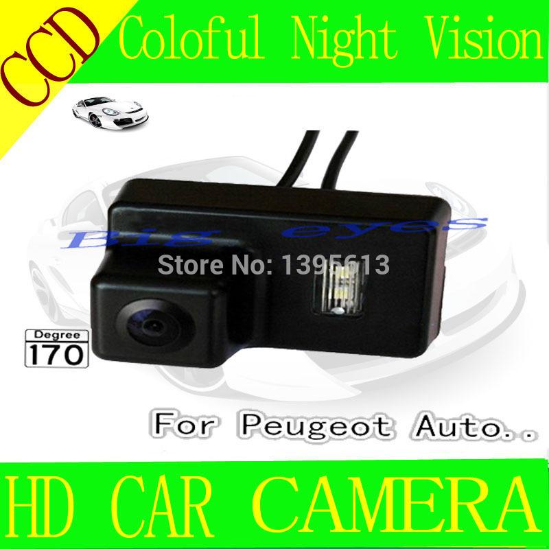 CCD CCD Ntsc NIGHT VISION Rear View camera for peugeot 206/207/306/307/307SM(China (Mainland))