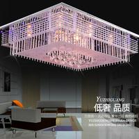 chandelier Crystal Light Ceiling led modern minimalist rectangular living room lamp bedroom lamp lighting Z024
