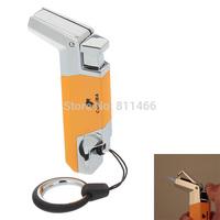 Free Shipping COHIBA  Lighter Windproof Zinc Alloy Super Fire  Butane Jet Flame Lighter  cigarette lighter -275308