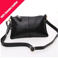 Brand new 100% Genuine Leather Day Clutches, Handbag Shoulder bag Messenger Bag Fashion day clutches wallets Evening Bag A9