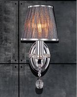 single - head Lighting wall lights wall lamp bedroom lamp new classical k9 crystal living room tv wall lamp