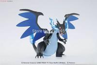 Pokemon XY Mega Shinka Evolution Lizardon x Charizard #36 dragon / Bandai anime model kit pvc figure original ver pocke freeship