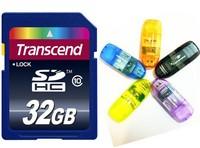 Memory Cards 32gb class 10 SD Card 8GB 16GB 64GB High speed SDHC camera Transflash flash Memory Cards+Gift Reader+Free Shipping