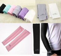 1 Pair Cooling Arm Sleeves Cover UV Sun Protection Golf bike outdoor Sports Free shipping