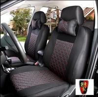 LBS 10 PCS roewe 350 750 550 950 lifan x60 Emulation silk + sandwiches seat car cover