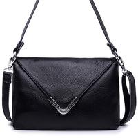 2014 new fashion women handbag, full grain leather hand shoulder bag, messenger bag for girl F009