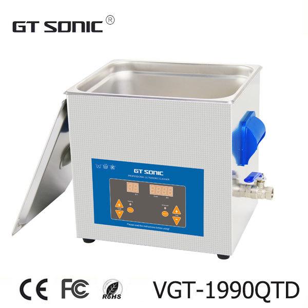 Vgt-1990qtd 9L aquecida limpador ultra-sônico industrial com a cesta livre(China (Mainland))