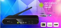 Newest DVB DN906 Smart TV box Android 4.2 AML8726-MX 1GB/4GB HDMI WIFI DVB-S2 3G AV out  Set TV Box