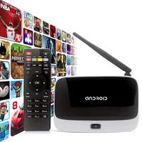 Android 4.4 TV Box Q7 CS918 RK3188T Quad Core Media Player Full HD 1080P 1GB/8GB XBMC Wifi Antenna with Remote Control