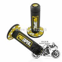 """Free Shipping For XR250/400 KLX/KDX250 DR200 TTR250 CRM/CRF motocross pro TAPER DIRT BIKE 7/8"""" HANDLEBAR RUBBER GEL HAND GRIPS"""