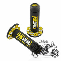 "Free Shipping For XR250/400 KLX/KDX250 DR200 TTR250 CRM/CRF motocross pro TAPER DIRT BIKE 7/8"" HANDLEBAR RUBBER GEL HAND GRIPS"