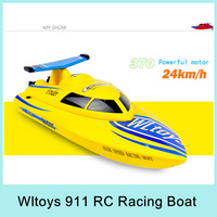 Wltoys WL911 Remote Control Toys Hight Speed Racing Boat 2.4GHz for Outdoor Fun Sport 24km/h 4CH RTF Remote Distance 100M