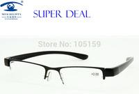 Eyewear & Accessories Reading Glasses  2.00 Men Half Frame Reading Glasses PC Temple/leg 11019