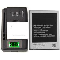 Original Battery EB-L1G6LLU & Charger For Samsung Galaxy S3 SCH-R530 2100 mAh
