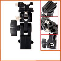 Flash Mount Swivel Light Stand Bracket Umbrella Holder D Type , Free / Drop Shipping Wholesale