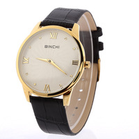 BIN CHI Moment Unisex Watch Wholesale Ultra-thin Leather Brand, Personality Spray Watches, Military Sports Leisure Quartz Watch
