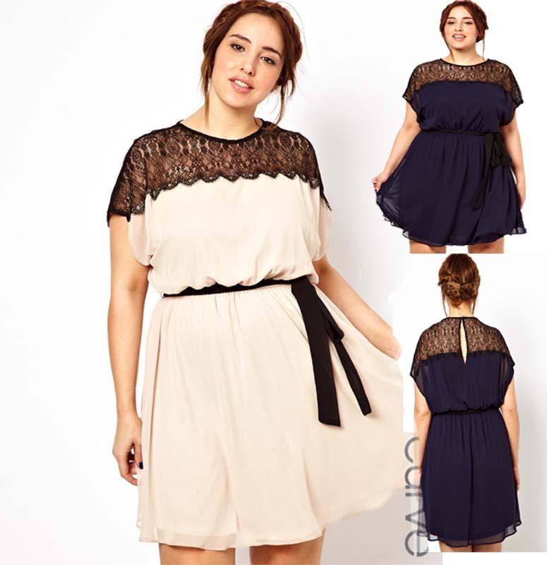цена  Женское платье Vestidos 4XL 5XL 6XL 2015 1901  онлайн в 2017 году