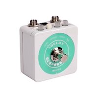 Guitar Effect Pedal Mooer Spark Delay Pedal Classic Analog Delay Up to 500 Milliseconds of Delay Free Shipping