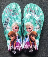 One Piece Retail Free shipping brand new Frozen Elsa Anna sandal sandals Thongs shoes