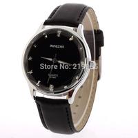 Hot Sales Men's Wear Brand Of High-Grade Leather Watch, Rhinestone Military Sportswear Quartz Watch Free Dropshipping
