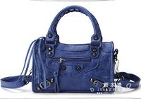 Wholesale New Fashion Vintage Motorcycle bag Women Imitation Leather Handbags city Tassel Brand Designer Mini Messenger Bags