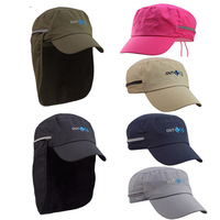 Outfly Retractable Folding UV Sun Neck Curtain Protection Outdoors Sports Cycling Hat Flat Cap