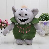 "10"" 25CM Frozen Trolls Plush Toys Stone Plush Toys Kristoff Friend Rock People Grand Pabbie Plush Toys Soft Stuffed Dolls"