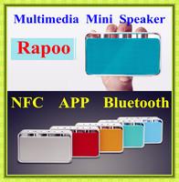 Free shipping Rapoo A600 newest wireless bluetooth speakers multimedia speaker mini speaker laptop phone pc small speaker nfc