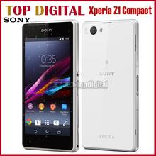 16G ROM D5503 original Sony Xperia z1 compacto Quad Core 20.7MP 2G RAM GPS WIFI 4G LTE Android Móvil Restaurado(China (Mainland))