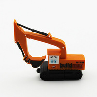 Wholesale Usb Flash Drive The Plastic Excavator Truck Shape Usb Memory Thumb Pendrives 2GB/4GB/8GB/16GB/32GB/64gb Free Shipping