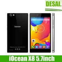 "5.7"" FHD 1920x1080 Gorilla Glass iOcean X8 MTK6592 Octa Core Android 4.2 Smartphone 3G  5.0MP&14.0MP Dual Cameras 16GB"
