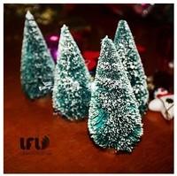 Merry christmas decoration home 6cm mane Christmas tree christmas decoration supplies new year party gift