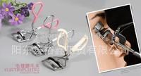Stianless steel Eyelash Curler with rubber handle, False Eyelash Clip, Eyelash Auxiliary Clip  Makeup Tools, Free shipment