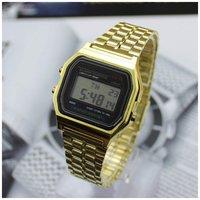 wholesale F-91W Metal watch Electronic watches LED watch ultra-thin wrist watch