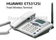 Original Huawei ETS3125i GSM fwp gsm fixed wireless office telephone desk telephone cordless phone with FM radio 900/1800MHz(China (Mainland))