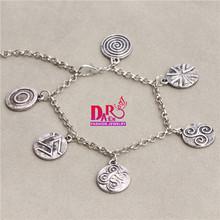 teen wolf symbols charms bracelets(China (Mainland))