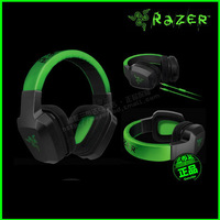 Thunder toothed whales Razer gaming headset / headphone black / green