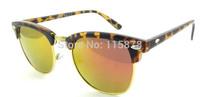Fashionable Women's New Designer Sunglasses Semi-rimless Frame Hot sale Polariod Sunglasses 9 Colors Available Z5862