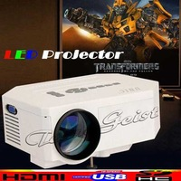 Wholesale 10pcs/lot 2014 Mini portable UC30 Projector HD LED Projectors Support HDMI VGA AV USB SD Digital Video Home Theatre