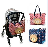 Fashion Mummy Bag,Waterproof Diaper Bag Free Shipping,Baby Nappy Bag,Mummy Bag bolsa de bebe free shipping