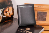 Brand Wallet 2014 Leather Men's Wallets Short Design The First Layer Cowhide Wallet Level Mens Leather Wallets For Money